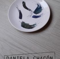 Ceremica. Un proyecto de Diseño, Artesanía, Bellas Artes, Pintura y Diseño de producto de Daniela Chacon         - 31.03.2015