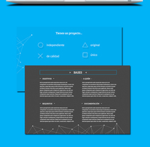 Playawards. Un proyecto de Diseño Web y Desarrollo Web de César Martín Ibáñez  - 26-08-2015