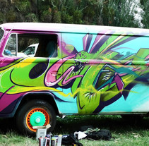 Graffiti combi. A Painting project by Javier Casanueva G. - Aug 31 2015 12:00 AM