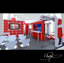 Stand Proyect. Un proyecto de Diseño, 3D, Arquitectura, Arquitectura de la información, Diseño de la información, Arquitectura interior, Marketing, Multimedia, Escenografía y Vídeo de Diana Carolina Londoño  - 31-08-2015