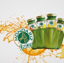 Mondariz Frutas. A Graphic Design project by Diego Equis De         - 31.10.2013