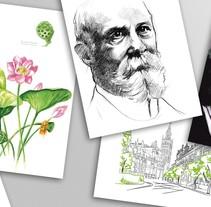 Ilustraciones. Um projeto de Design e Ilustração de base12 - 03-09-2015