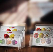 Flyer corporativo. Um projeto de Br, ing e Identidade, Design de vestuário e Design gráfico de Alex Goienetxea - 25-03-2015