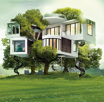 Dream a house. A Illustration, and Art Direction project by FRANCISCO POYATOS JIMENEZ - 14-07-2015