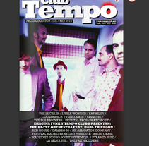 Diseño Editorial  |   Tempo Club Magazine. A Art Direction, Br, ing, Identit, Editorial Design, and Graphic Design project by Demian  Abrayas - 09-09-2015