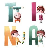 Tina- Mi Proyecto del curso Ilustración digital (edición coleccionista). A Illustration project by chicaconflequillo         - 16.09.2015