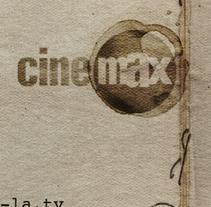 Branding / CINEMAX . Un proyecto de Diseño, Motion Graphics, Dirección de arte, Br e ing e Identidad de Alejandro  Armas Vidal - 20-09-2015