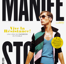 Manifesto: proyecto editorial. Un proyecto de Dirección de arte de Pablo Elorriaga Grande         - 04.06.2010