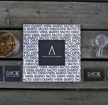 SAVORE. Identidad Gráfica. Un proyecto de Br e ing e Identidad de Tanya VONDEE - 21-09-2015