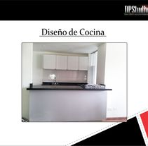 Diseño Cocina. A Design, Cooking, Furniture Design, Industrial Design, Interior Architecture&Interior Design project by DPStudio         - 22.09.2015