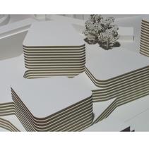 Maqueta para Mansilla + Tuñón del proyecto de concurso de un Centro Cultural en Ascona. A Architecture project by hchmodel - 23-09-2015