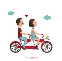 Parejas en conflicto. Un proyecto de Diseño gráfico e Ilustración de maruta - Jueves, 24 de septiembre de 2015 00:00:00 +0200