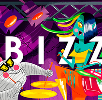 B I Z Z A R R E MAGAZINE. A Illustration, and Character Design project by Jhonny  Núñez - Sep 24 2015 12:00 AM