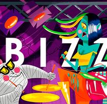 B I Z Z A R R E MAGAZINE. Un proyecto de Diseño de personajes e Ilustración de Jhonny  Núñez - Jueves, 24 de septiembre de 2015 00:00:00 +0200