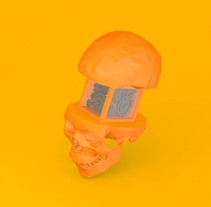 CAN'T STOP THINKING. Un proyecto de Diseño, 3D, Dirección de arte, Bellas Artes y Diseño gráfico de AleixOlesti - 25-09-2015