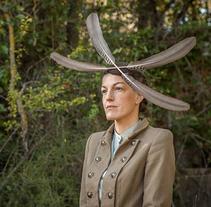 Diseño de accesorios - Tocados y sombreros. Un proyecto de Diseño, Fotografía, Diseño de complementos, Diseño de vestuario y Moda de Amaia Bloom - 30-09-2014