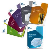 Catálogo de productos para Medical Modular System. A Editorial Design project by Xavi Serra         - 30.09.2015