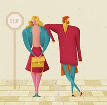 ¡La vuelta a clase!. Un proyecto de Ilustración, Dirección de arte, Diseño de personajes, Diseño editorial, Moda y Diseño gráfico de David van der Veen - 30-09-2015