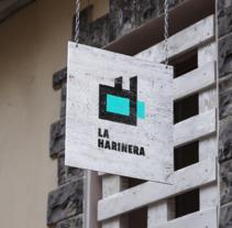 La Harinera. Un proyecto de Diseño, Publicidad, Dirección de arte, Br, ing e Identidad, Diseño editorial y Diseño gráfico de Arturo Hernández - 31-08-2015