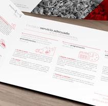 Dossier corporativo DestruPack. Un proyecto de Diseño editorial de Patricio Branca         - 05.10.2015