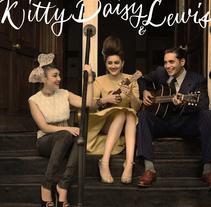 Logo de Kitty, Daisy & Lewis . Um projeto de Artes plásticas de Mamen R. Herrandorena         - 22.03.2016