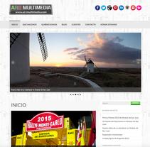 WEB AR2Multimedia. A Web Design project by Moisés Escolà Martínez         - 17.10.2014