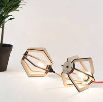 LANTERN - A lamp to build. A Product Design project by Marine Vola - 10.19.2015