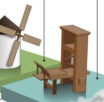 Ilustraciones para libros de texto. Um projeto de Ilustração de Germán Gómez Arranz - 19-10-2015