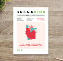 BuenaVida magazine Look & Feel . A Editorial Design, Graphic Design&Information Design project by relajaelcoco         - 31.08.2015