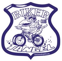 Tangel (Logo Biker Club ). Un proyecto de Ilustración de jose ramón puerto urios         - 25.10.2015