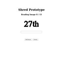 Escaneo imágenes Shred. Um projeto de Desenvolvimento Web de Gema R. Yanguas Almazán         - 21.05.2015