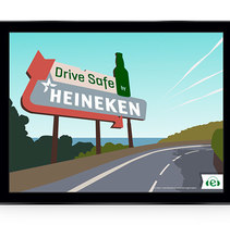 Drive Safe by Heineken - Videojuego Multiplataforma. A Software Development project by Marianito Rivas         - 25.01.2014