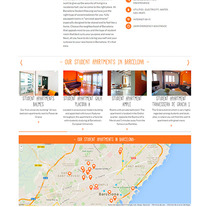 Barcelona Student Housing. A Web Design project by La Teva Web Diseño Web  - 26-10-2015