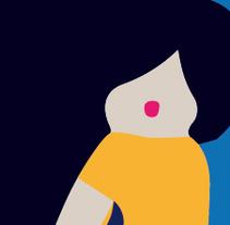 Cartel Festival Hockey. A Graphic Design&Illustration project by Marilu Rodriguez Vita - Oct 28 2015 12:00 AM