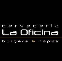Menú para impresión. Cervecería La Oficina.. Un proyecto de Diseño gráfico de María Gutiérrez - 02-11-2015