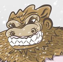 Los despistes en la montaña se pagan caros.. A Illustration, and Comic project by Jujo Fosfenos         - 02.11.2015