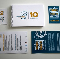 Semana del Cerebro - Día Internacional del Ictus. A Design, Br, ing&Identit project by Mariano Ramirez Garcia         - 03.11.2015