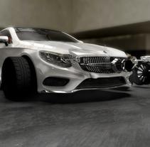 Mercedes S-Clase Coupé. Um projeto de 3D, Animação e Arquitetura de Alberto Luque - 16-11-2015