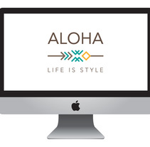 Logotipo Aloha. A Br, ing, Identit, and Graphic Design project by Asier Pérez Subijana         - 30.04.2015