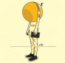 """""""Mitad esfera"""". Um projeto de Ilustração de Chuy Velez - 21-11-2015"""