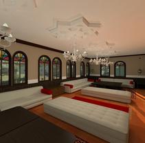 Proyecto Showroom en Melilla. Modelado 3d e iluminación.. A 3D&Interior Architecture project by Iris Carballo         - 23.11.2015
