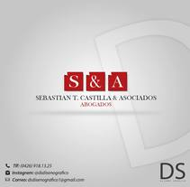 "Logotipo: ""Sebastian T. . A Design, and Graphic Design project by David Sánchez         - 13.06.2015"