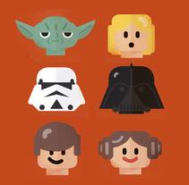 REVISTA CINEMANÍA: LEGO STAR WARS. Un proyecto de Ilustración, Diseño de personajes y Diseño de juguetes de Del Hambre         - 24.11.2015