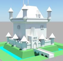 Castle for beginners. Un proyecto de 3D de Rebeca Raymundo Escalante         - 25.11.2015