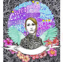 Zahara por el dios de los tres. A Illustration project by Javier Navarro Romero         - 29.11.2015