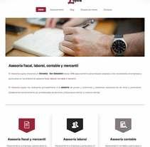 Desarrollo web para Asesoría Loyola. Un proyecto de Desarrollo Web de Itziar Olazabal Alonso         - 01.12.2015