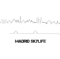 Madrid Skylife. Un proyecto de Diseño gráfico de Samuel Juan Lora - 04-12-2015