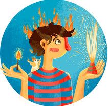 Pólvora. A Illustration project by Juliana Erazo - 09-12-2015