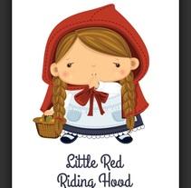 Caperucita Roja. Un proyecto de Ilustración de Paula Araújo Losas - Viernes, 11 de diciembre de 2015 00:00:00 +0100