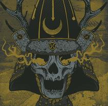 Skull Samurai. Un proyecto de Ilustración de Samuel Rodríguez Melián - 14-12-2015